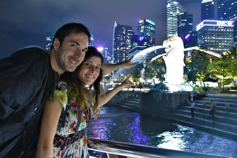 Merlion - Que ver en Singapur en un día