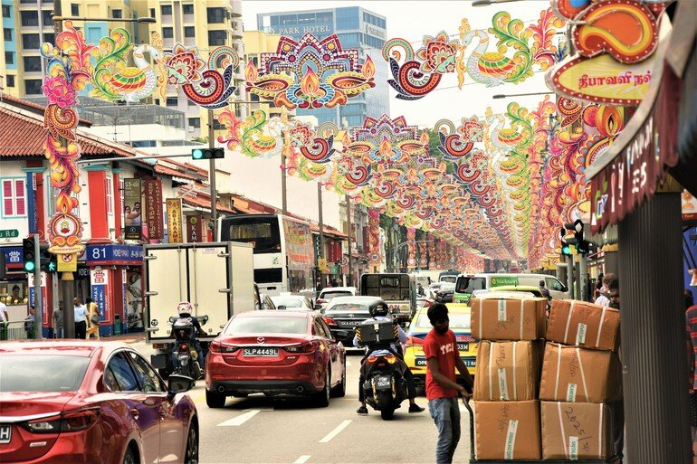 Little India - Que ver en Singapur en un día