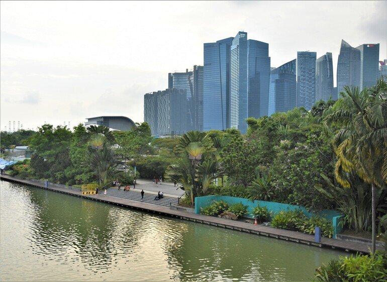 Zona financiera - Que ver en Singapur en un día
