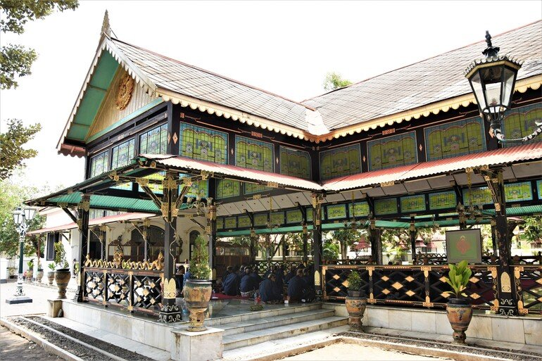Palacio del sultán - Yogyakarta