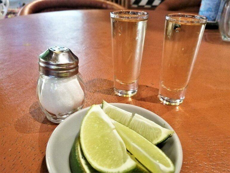 Tequila en Playa del Carmen