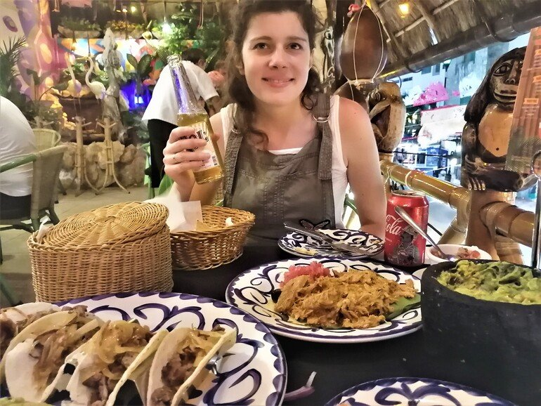 Cena en Restaurante Tropical - Ver Playa del Carmen