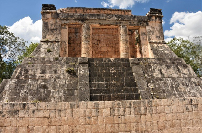 Templo del Hombre Barbudo - Visitar Chichen Itza