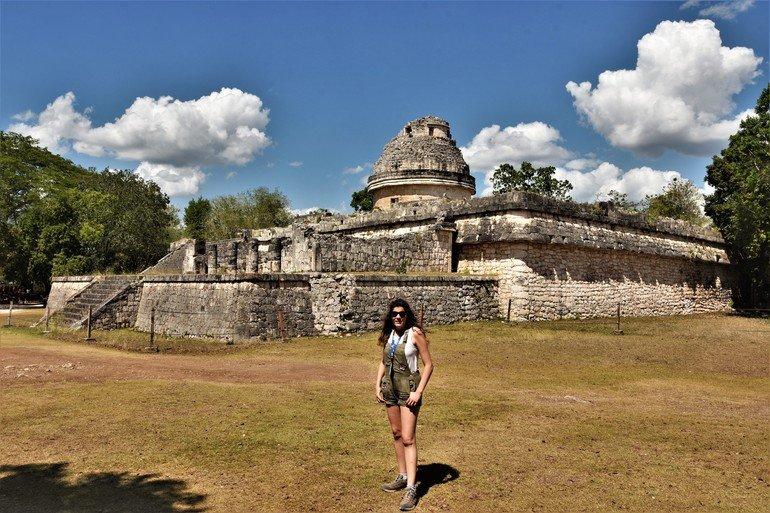 El observatorio  - Visitar chichen Itza