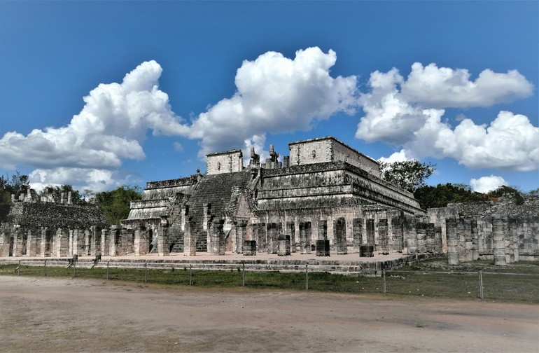 El templo de los guerreros - Visitar Chichen Itza