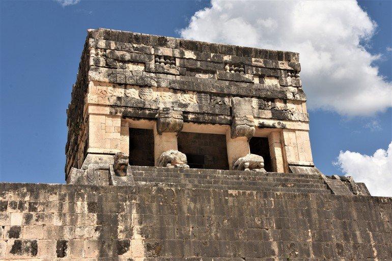 Templo del águila y del jaguar - Visitar Chinchen Itza