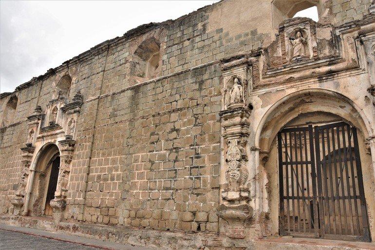 Convento de Santa Clara - Visitar Antigua