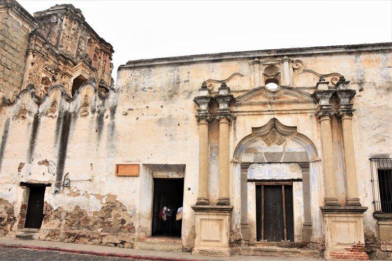 Convento Santa Clara - Visitar Antigua