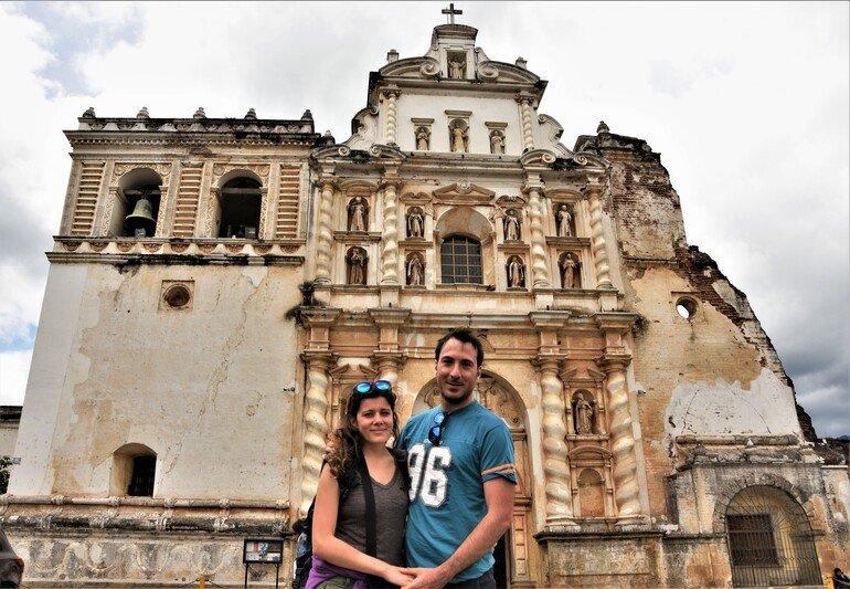 Iglesia de San Francisco - Visitar Antigua