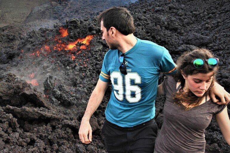 Subir al volcán Pacaya - viajar a Guatemala por libre