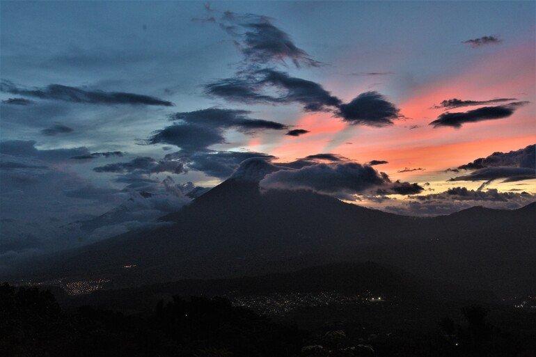 atardecer - Subir Volcán Pacaya