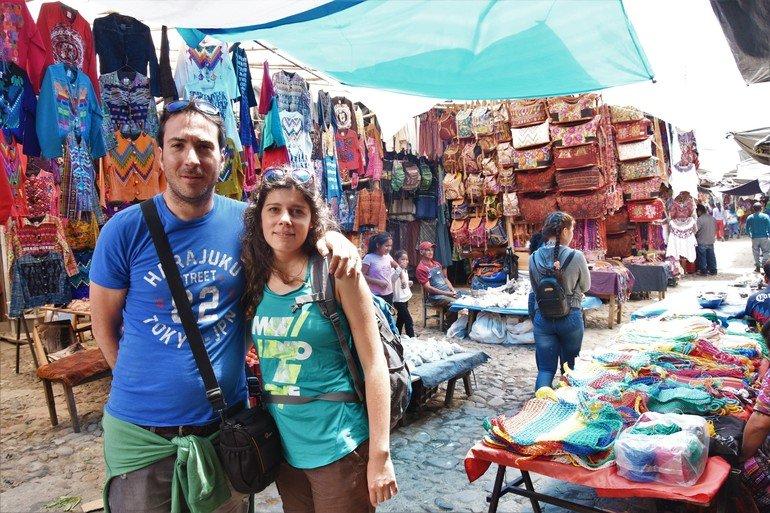 Mercado de Chichicastenango - viajar a Guatemala por libre