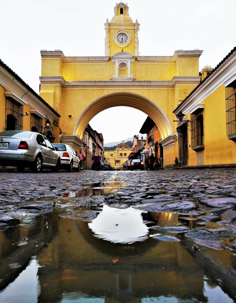 Arco de Santa Catalina - Visitar Antigua