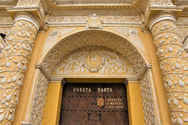 Iglesia Santa La Merced - Visitar Antigua