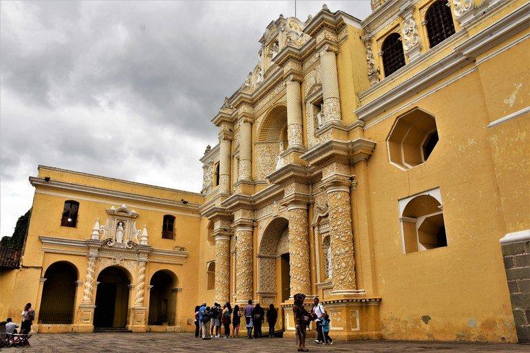 Iglesia de la Merced - Visitar Antigua