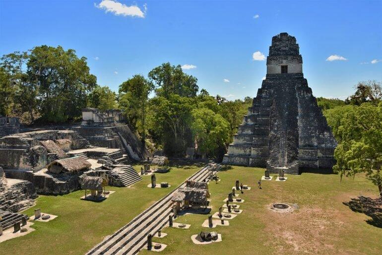Vistas desde las alturas del templo II