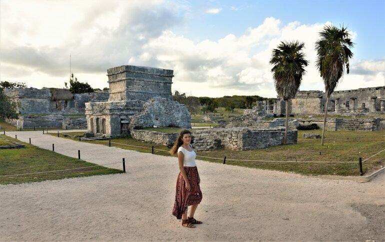 El Templo de las Pinturas Tulum
