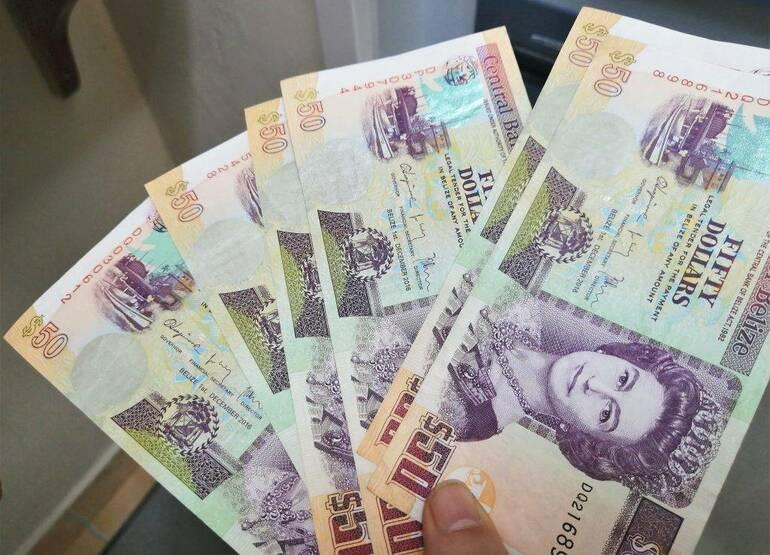 Billetes de Belice
