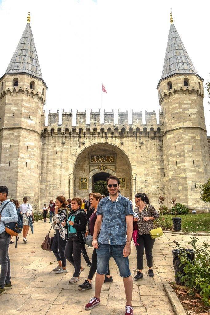 Puerta imperial Palacio de Topkapi