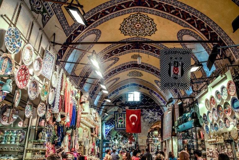 Que ver en Estambul , Gran Bazar