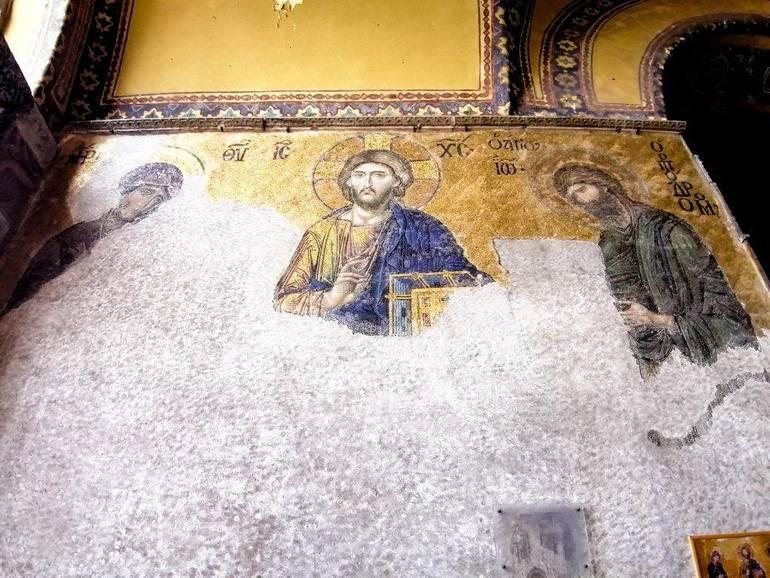 Mosaicos Santa Sofía