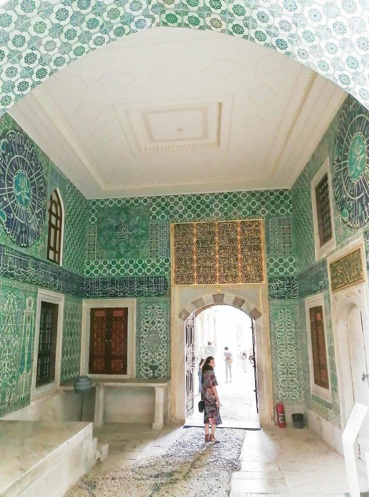 Harem en Palacio de Topkapi