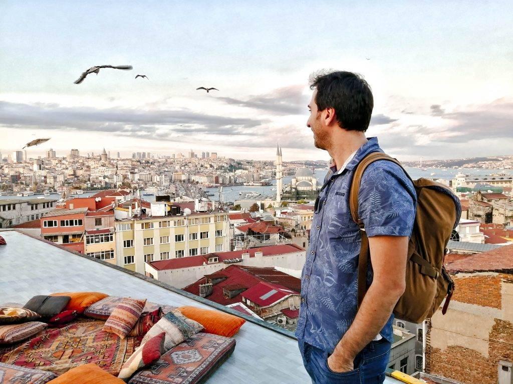 Kubbe Café - Donde ver el atardecer en Estambul