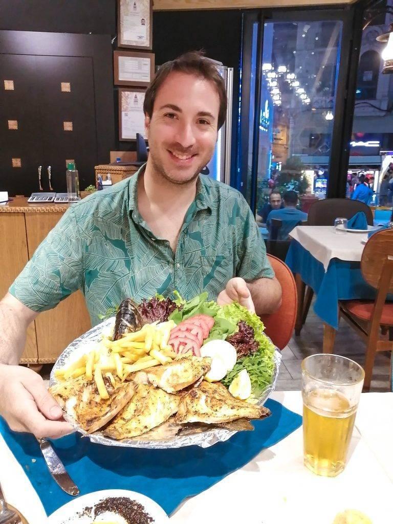 cenar en Estambul
