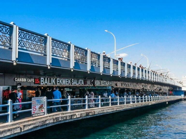 Visitar Estambul - Puente de Gálata