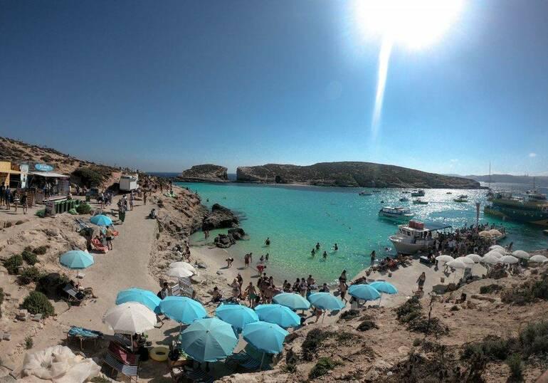 Que visitar en Malta , Isla de Comino