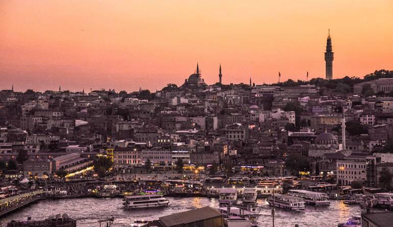 Konak Café - Donde ver el atardecer en Estambul