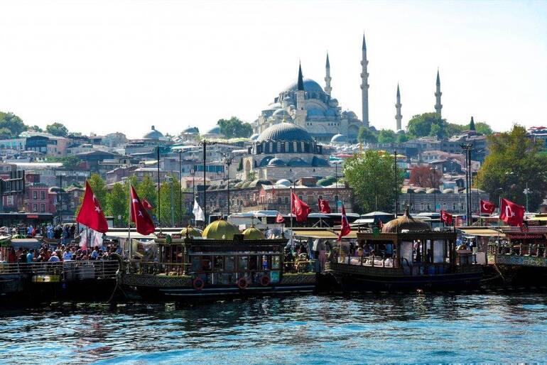Donde ver el atardecer en Estambul