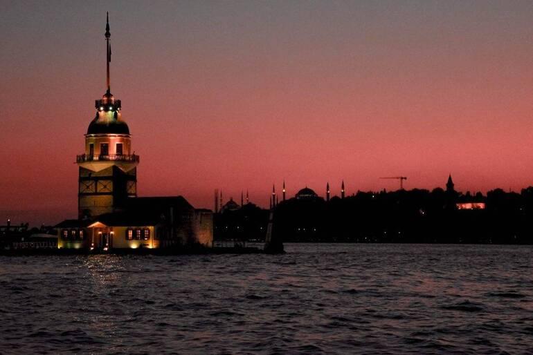 Café de las alfombras - Donde ver el atardecer en Estambul