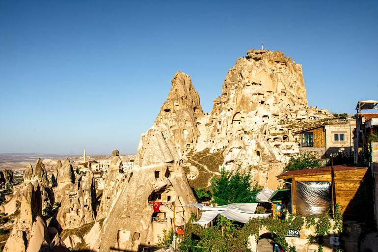 Que hacer en Capadocia - Castillo de Uchisar