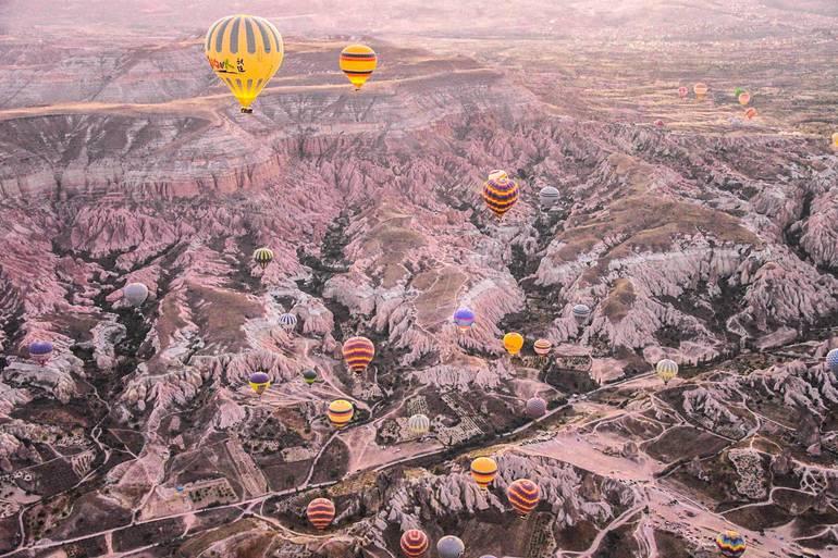 globo Capadocia - Viajar a Turquía por libre
