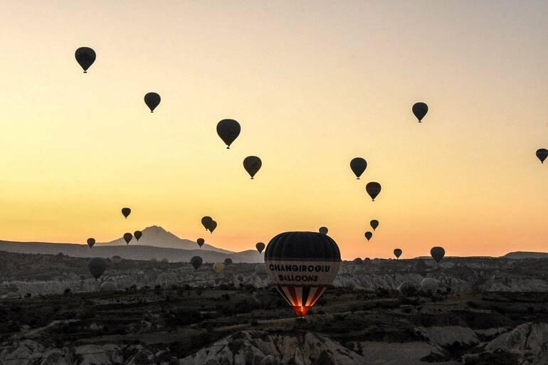 Volar en globo por Capadocia