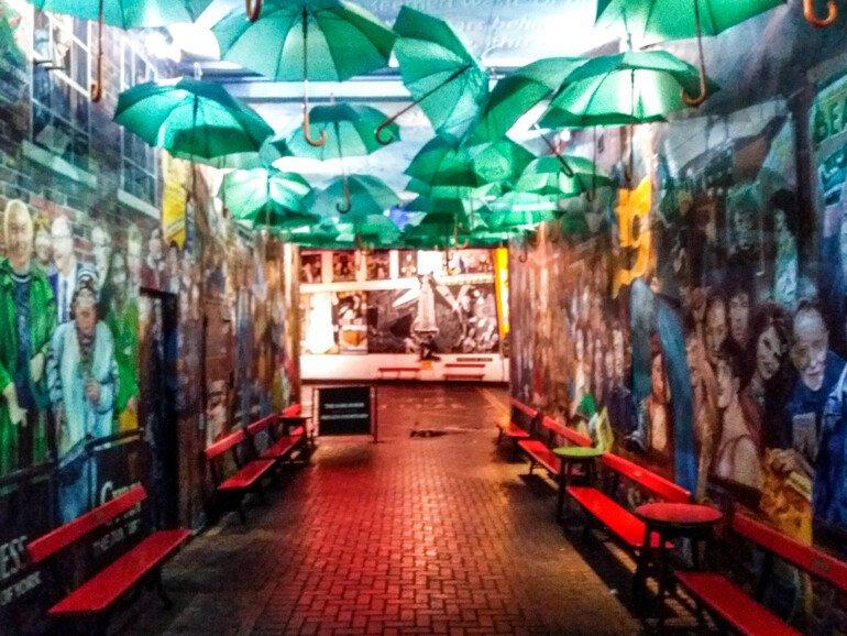 Esquina de los murales - Que ver en Belfast