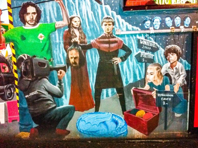Murals Square - Que ver en Belfast