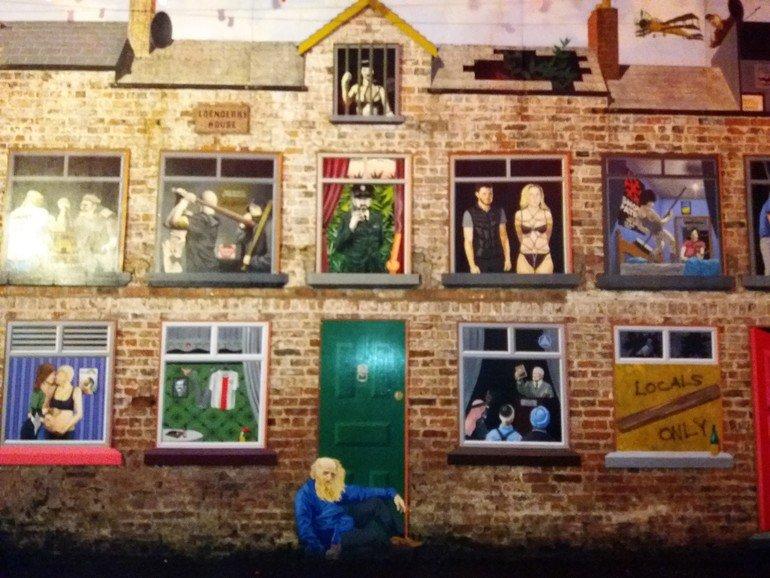Mural Square - Que ver en Belfast