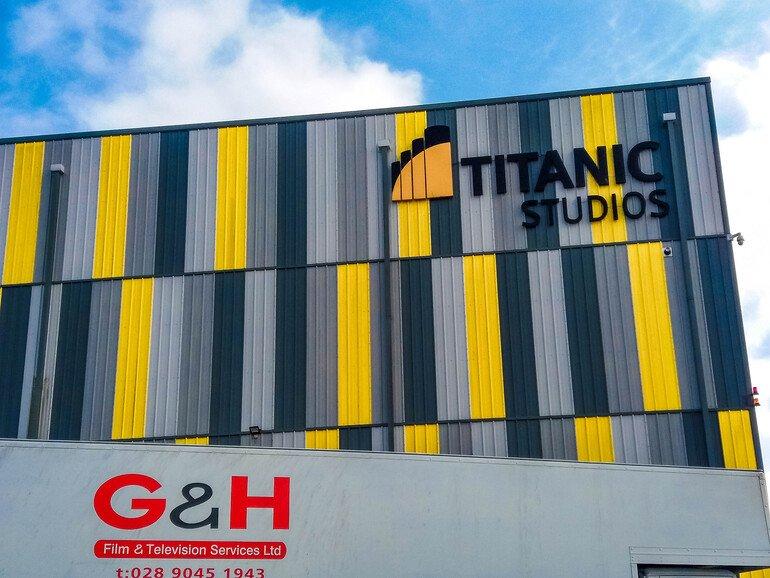 Estudios de grabación en Titanic Quarter - Que ver en Belfast
