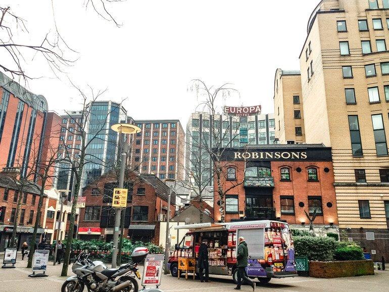 Hotel Europa - Que ver en Belfast