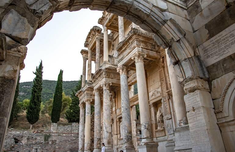 Que ver en Éfeso - Biblioteca de Celso