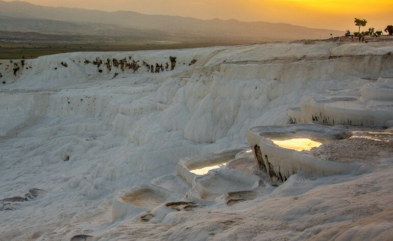 Travertinos de Pamukkale Turquía