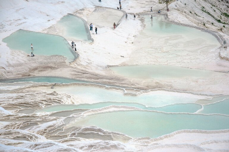 Travertinos de Pamukkale, Turquía