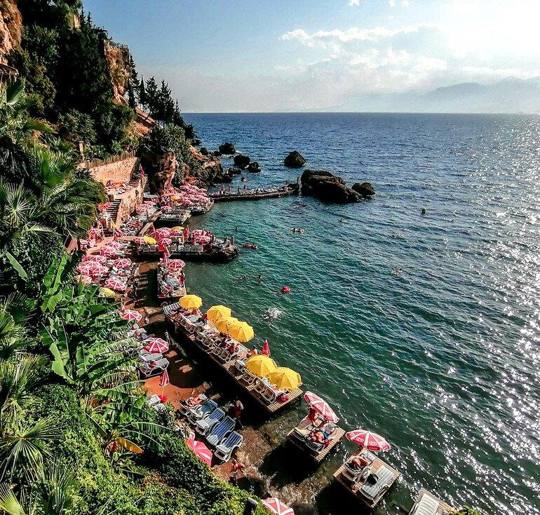 Playa Mermeli - Que ver en Antalya