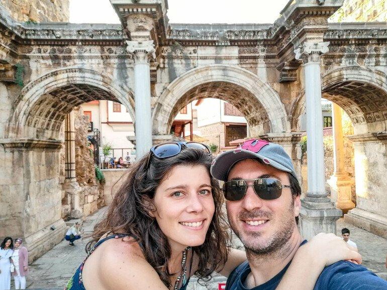 Puerta de Adriano - Que ver en Antalya