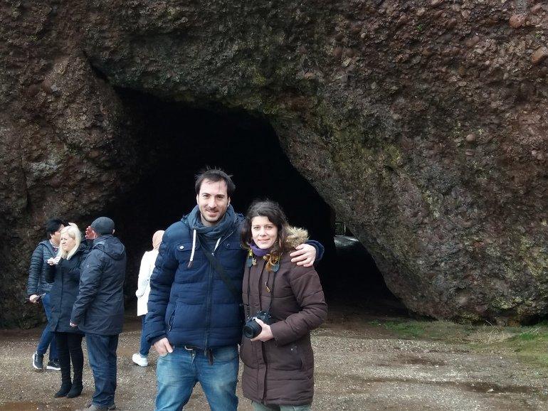 Cuevas de Cushendun - La Calzada del Gigante Irlanda del Norte