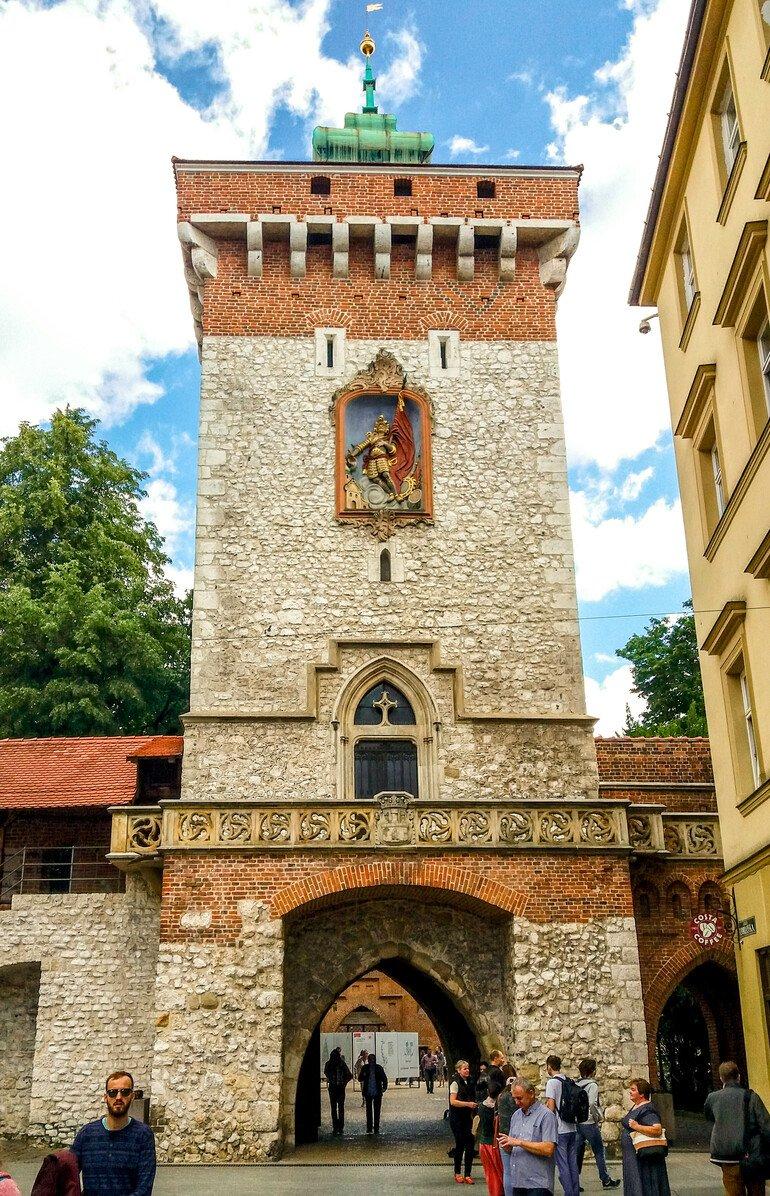 La Barbacana- Que ver en Cracovia en dos días