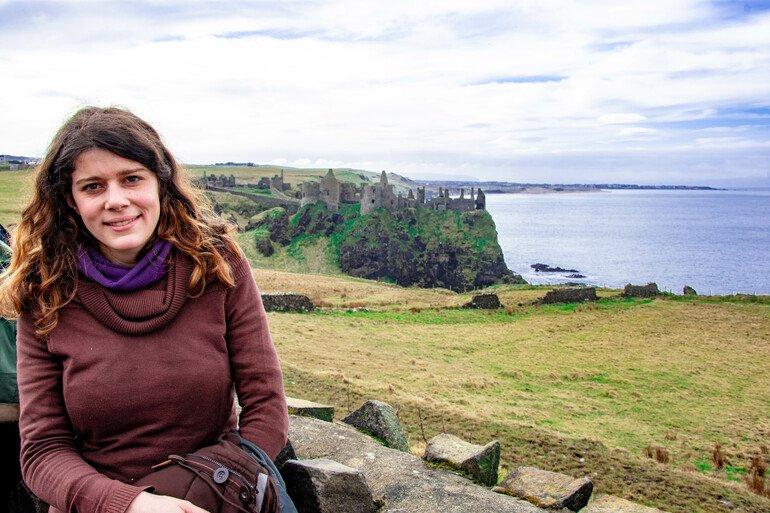 Castillo Dunluce - La Calzada del Gigante Irlanda del Norte