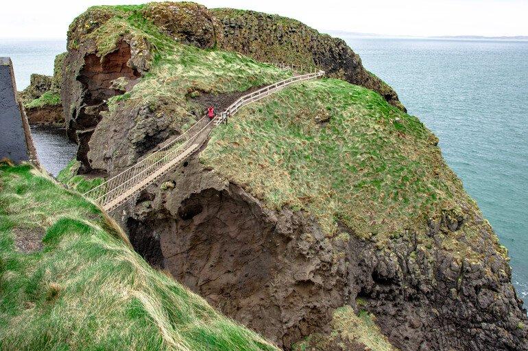 Puente de Cuerdas Carrick-a-Rede - La Calzada del Gigante Irlanda del Norte